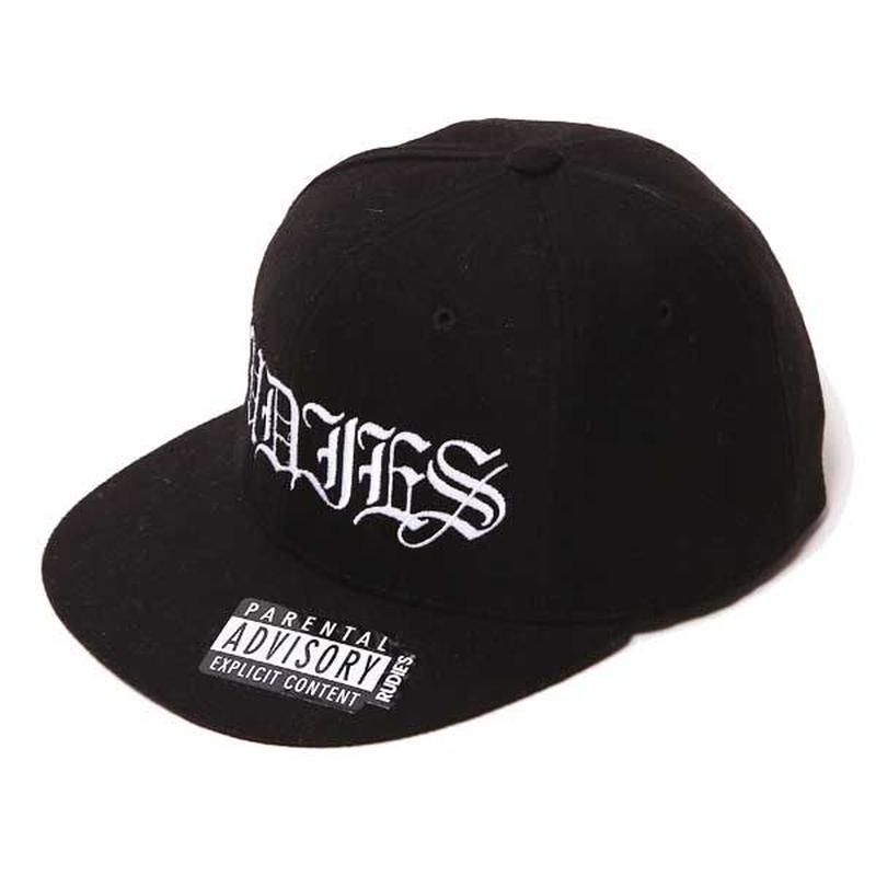 SWAG WOOL SNAPBACK CAP/BLACK