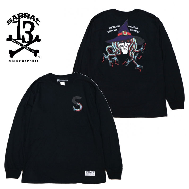 SERPENT WITCH L/S T / BLACK