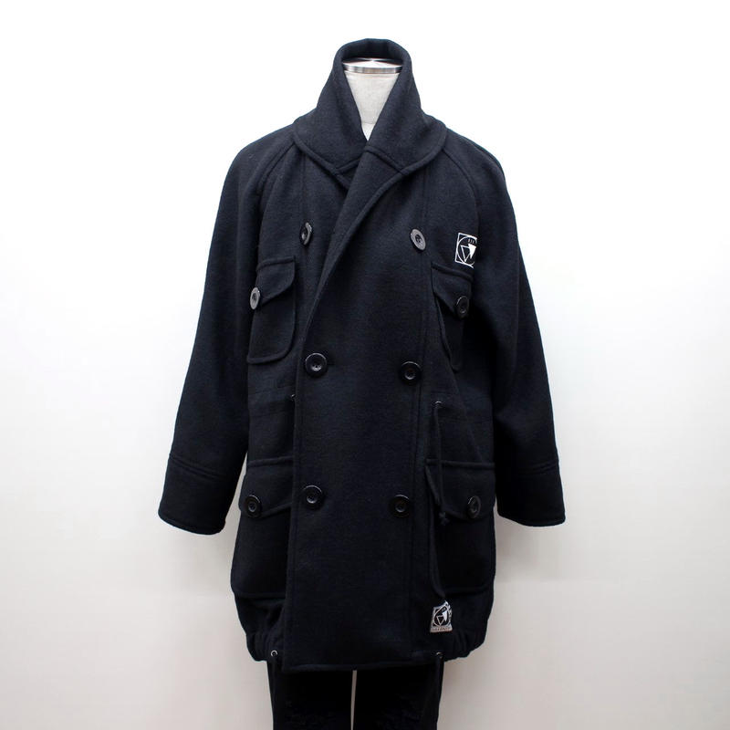 "SILLENT ミリタリーコート ""WANDER -Military Coat-"" / BLACK"