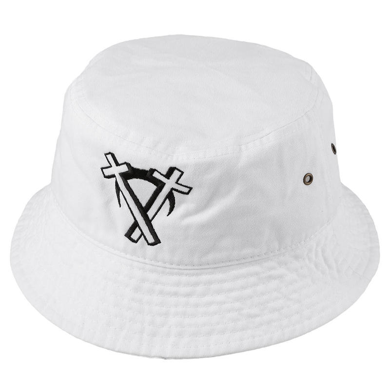 """Intarsect"" Backet Hat / WHITE"