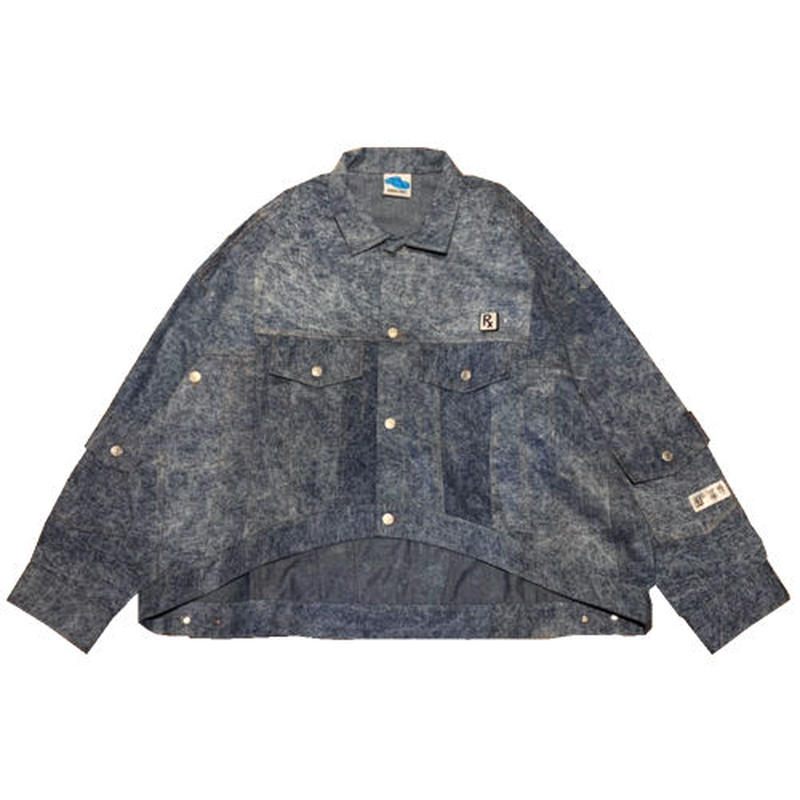 SLEEPING TABLET デニムジャケット CHIC [ FORMED DENIM SHIRTS ] / INDIGO
