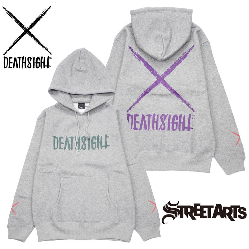 """deathsight"" Hoodie STREET ARTS LIMITED"