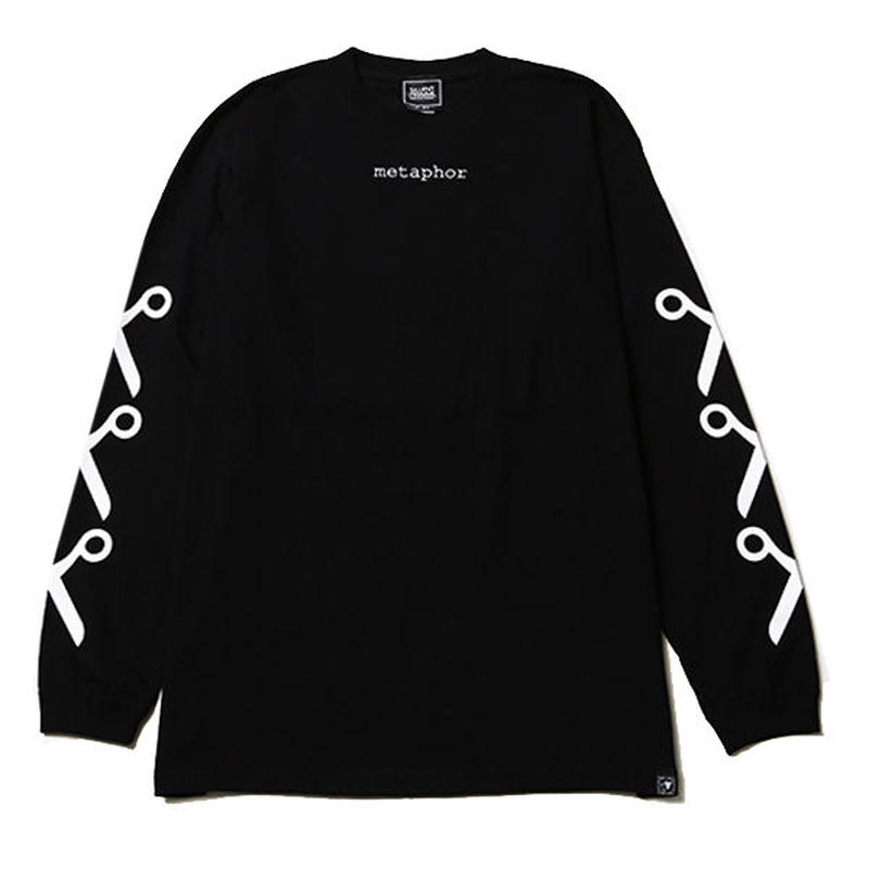 METAPHOR -Long Sleeve- / BLACK