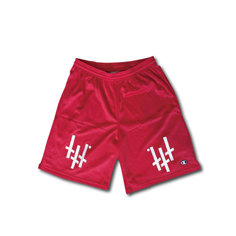 -REVERSECROSS- MeshShorts / RED