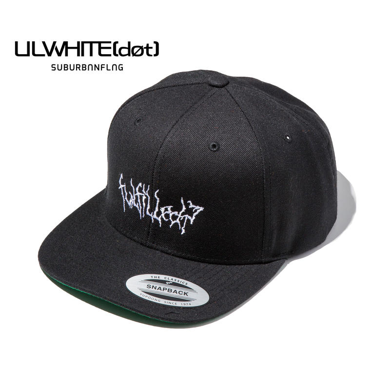 -VAIN- SNAPBACK CAP / BLACK-WHITE