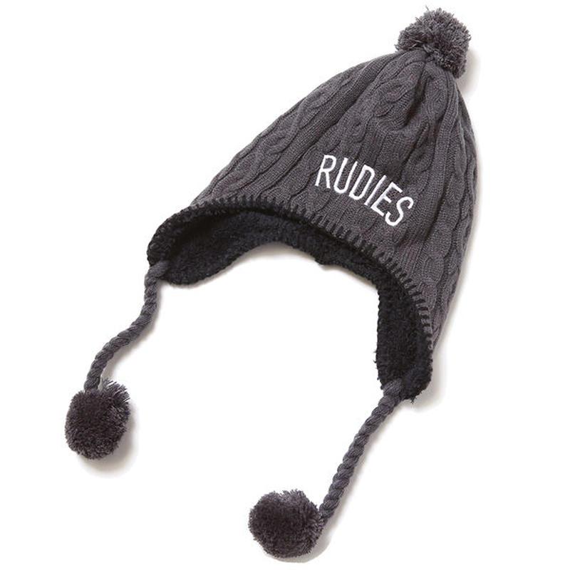 """RUDIE'S ニットキャップ """"PHAT BONBON CAP"""" / GRAY"""