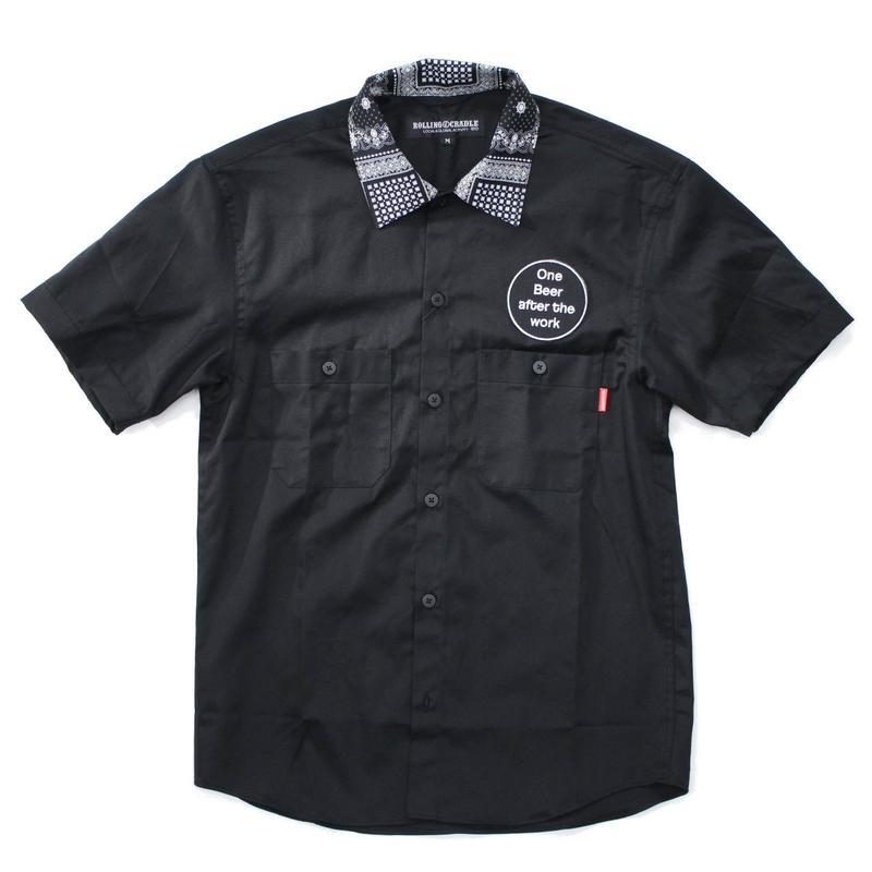 CYCLO-TIGER WORK SHIRT / BLACK