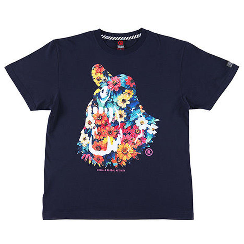 ROLLING CRADLE Tシャツ CYCLOPS SHOUT -BEAUTIFUL- / Navy