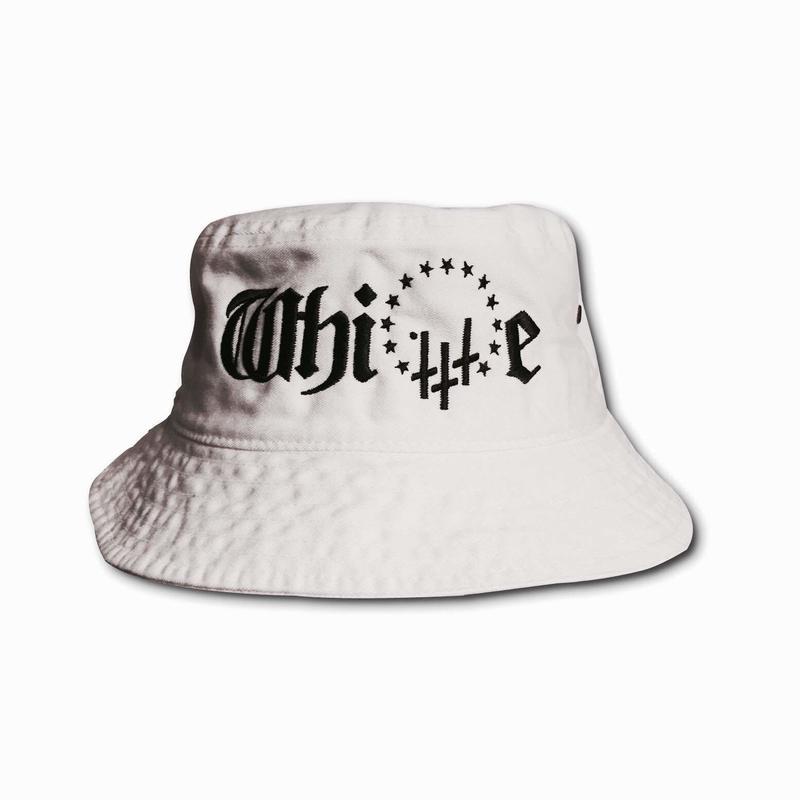 -WHITE- BucketHat / WHITE