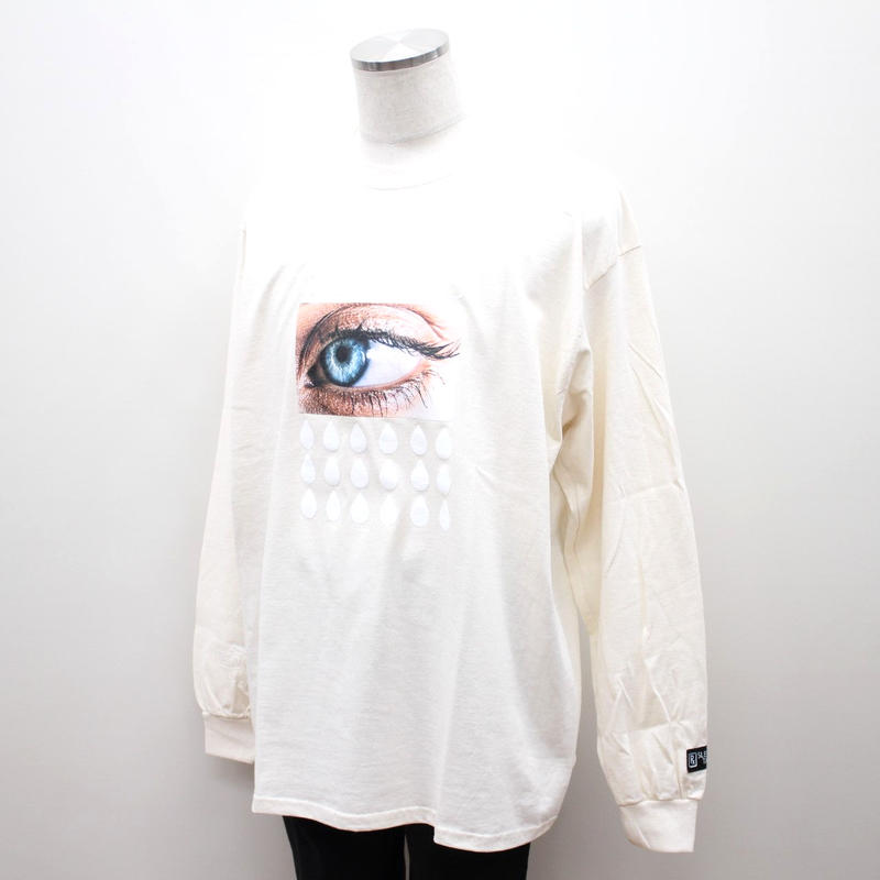 SLEEPING TABLET ロンT MISTICS [ LONG SLEEVE ] / NATURAL