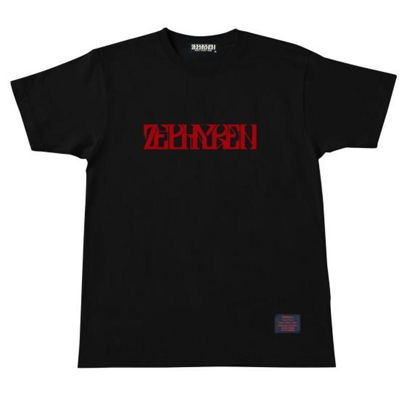 S/S TEES BLACK-RED