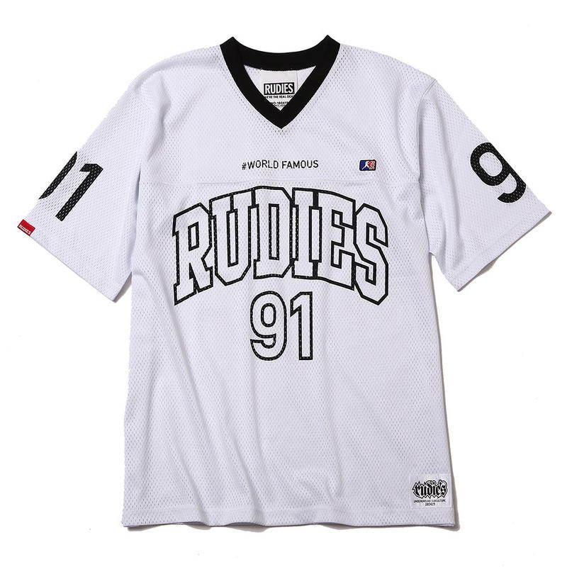 NINEONE COLLEGE GAME SHIRTS / WHITE