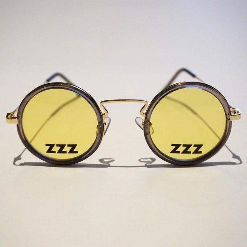 SLEEPING TABLET サングラス ZZZ [ OVAL SUNGLASS ] / YELLOW
