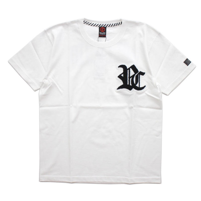 RC LOGO T-SHIRT / WHITE