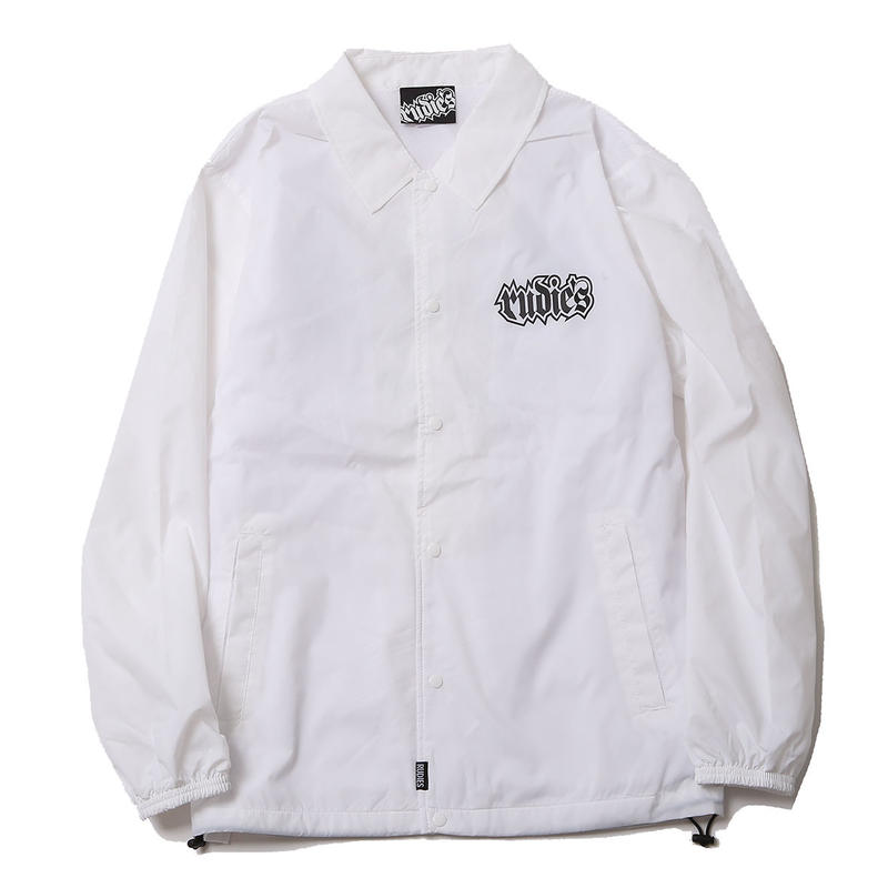 SPARK COACH JACKET / WHITE