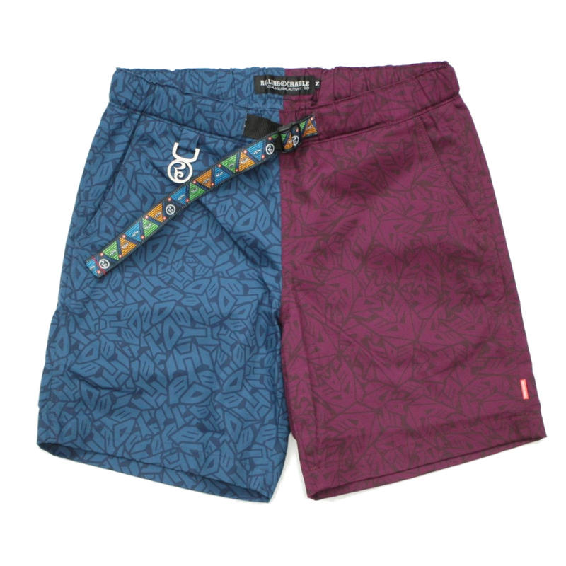 RC×TRANSFORMERS CYBERTRON VS DESTRON SHORTS / BLUE-PURPLE