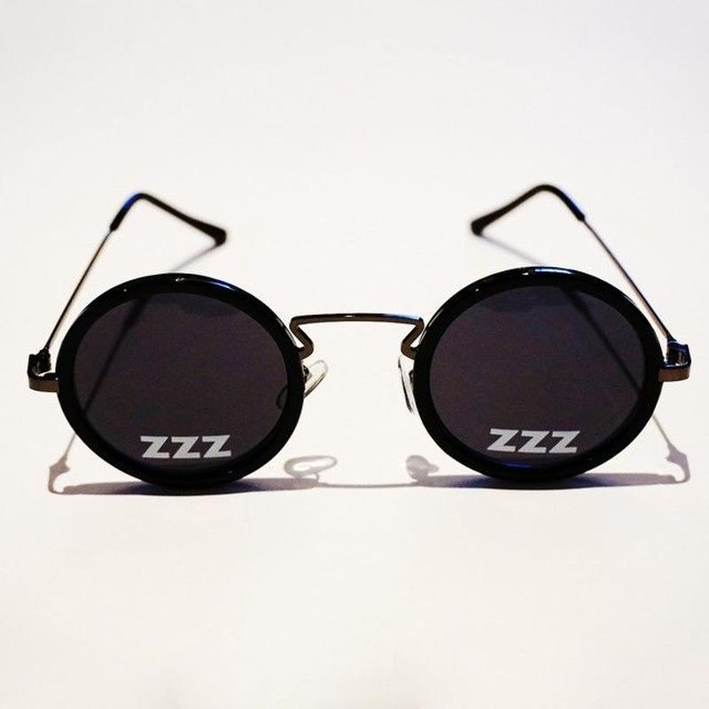 SLEEPING TABLET サングラス ZZZ [ OVAL SUNGLASS ] / BLACK