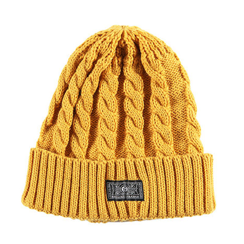 "ROLLING CRADLE ニットキャップ ""RC KNIT CAP"" / MUSTARD"