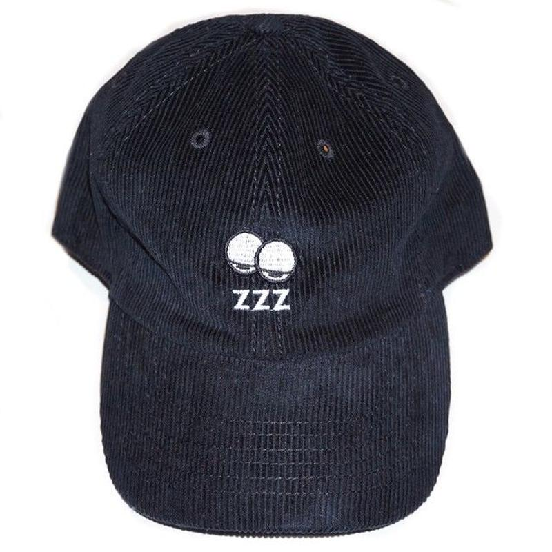 SLEEPY [ CORD CAP ] / BLACK