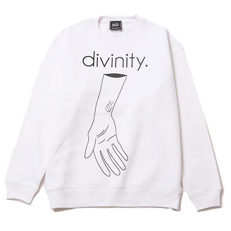 DIVINITY -Crew Sweat- / WHITE