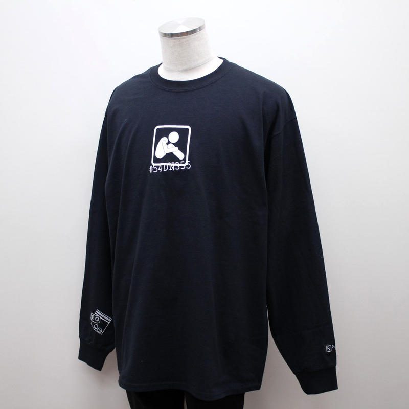 SLEEPING TABLET ロンT BOI [ LONG SLEEVE ] / BLACK