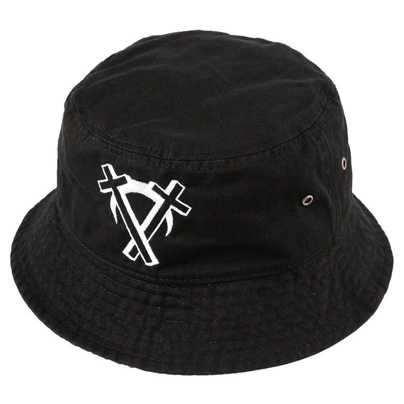"""Intarsect"" Bucket Hat / BLACK"