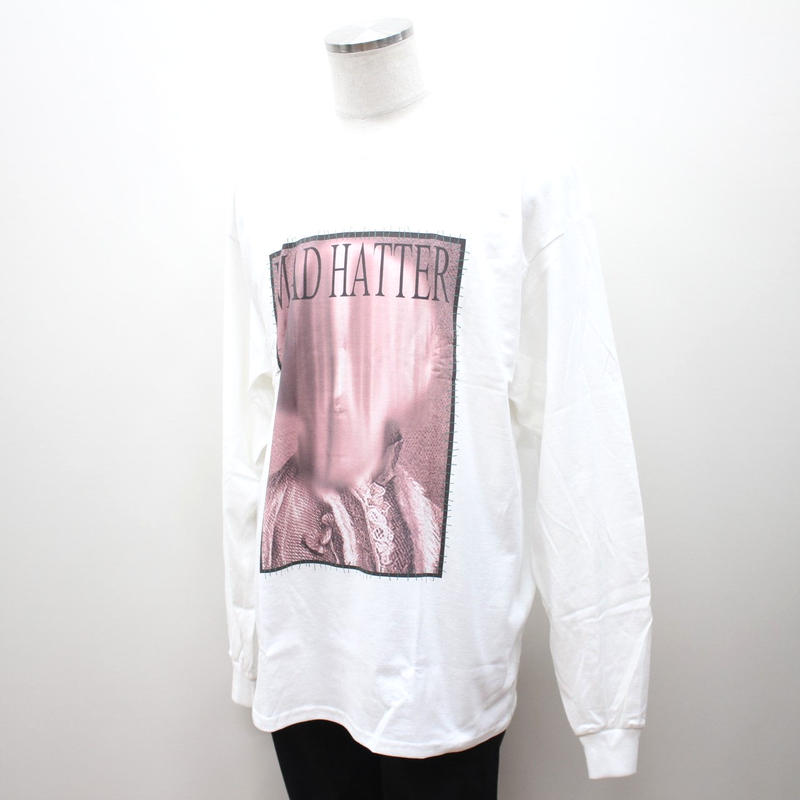 """MAD HATTER ロンT """"Earl L/S Tee"""" / WHITE"""