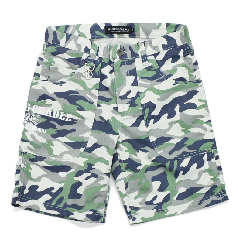 BIG POCKET SHORTS / GREEN
