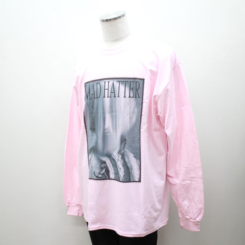 """MAD HATTER ロンT """"Earl L/S Tee"""" / PINK"""