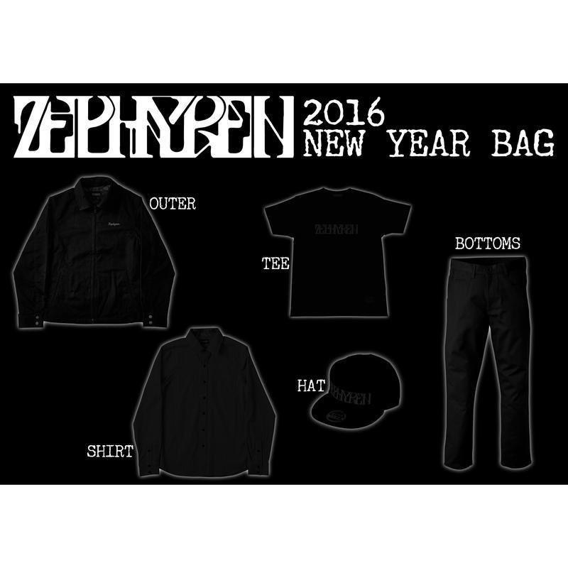 Zephyren 2016 NEW YEAR BAG