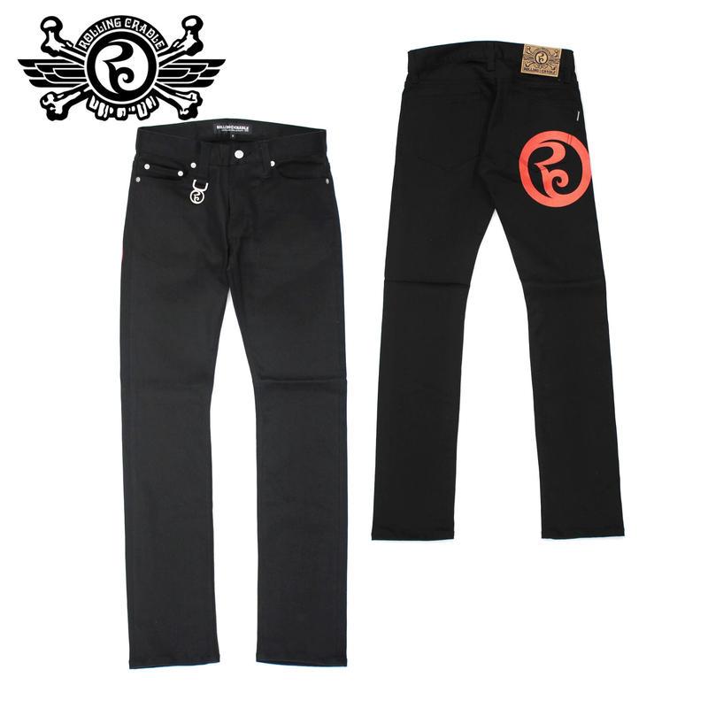 RC SKINNY PANTS / BLACK
