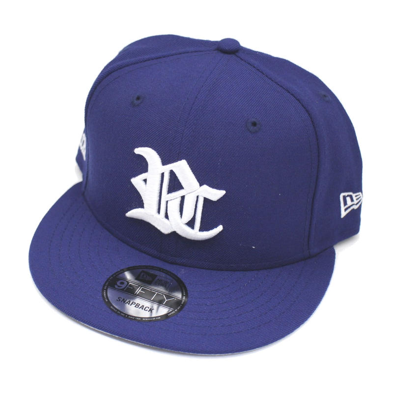 RC LOGO NEW ERA CAP SNAPBACK / BLUE