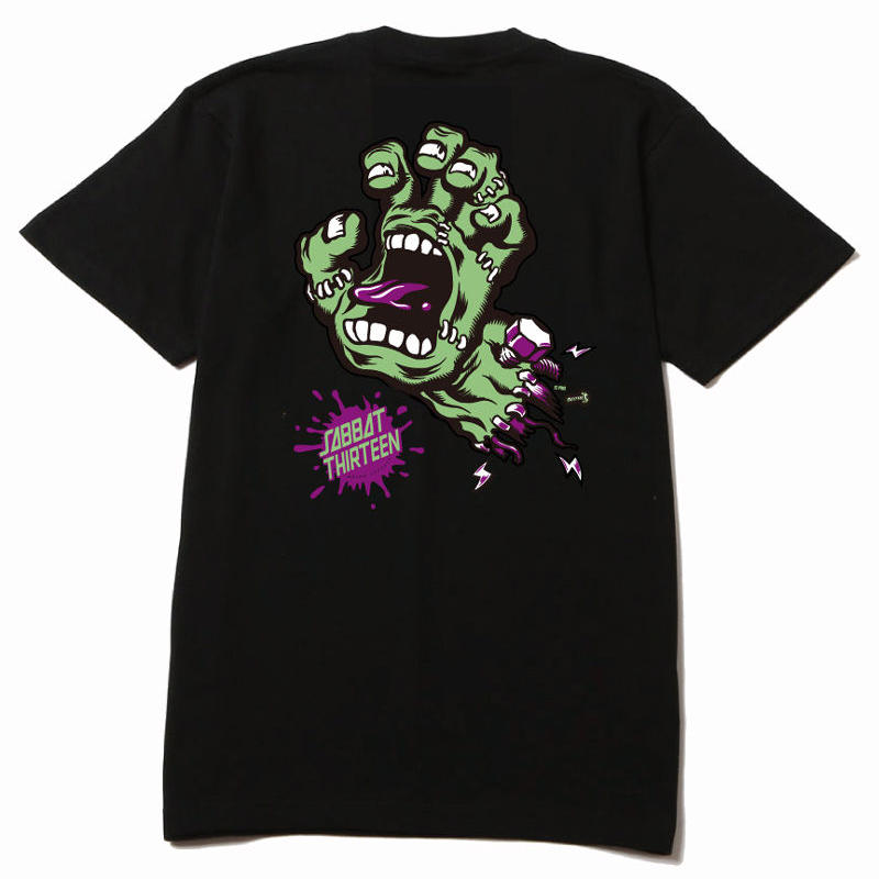 "HAND MONSTERS ""FRANKEN"" T-sh / BLACK"