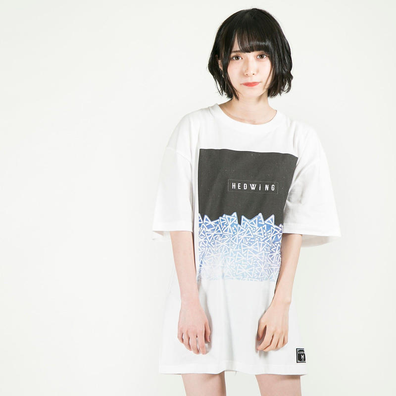"""HEDWiNG Tシャツ """"Stardust T-shirt"""" / WHITE"""