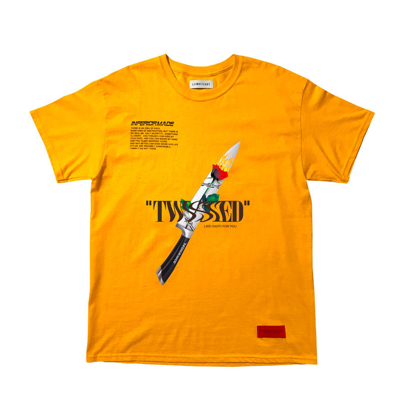 -TWISTED- TEE / ORANGE
