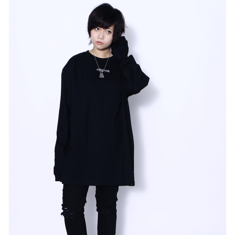 "SILLENT ロンT ""STIGMA -Long Sleeve-"" / BLACK"