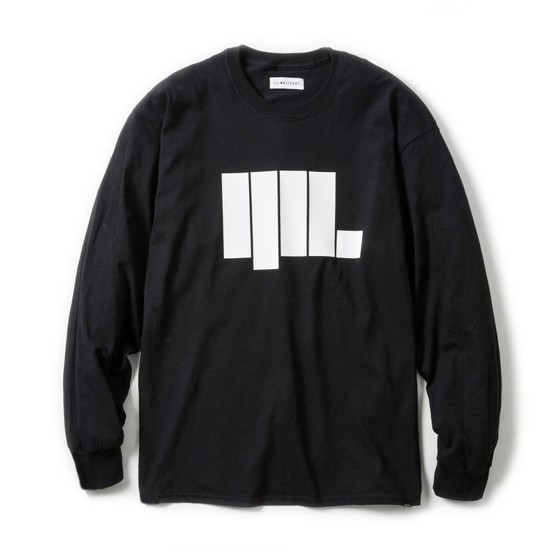 -ANGULAR- LONG SLEEVE TEE / BLACK