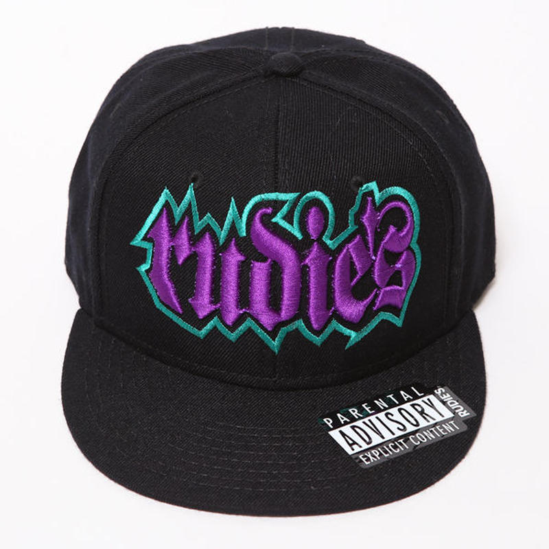 SPARK SNAPBACKCAP / BLACK-GREEN-PURPLE