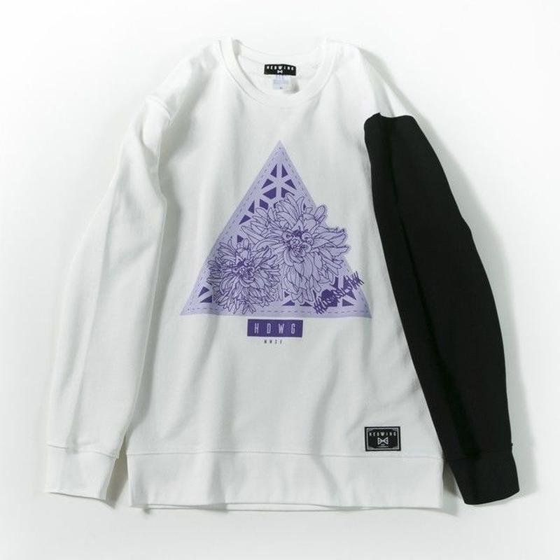 Delta Flower Sweat / WHITE