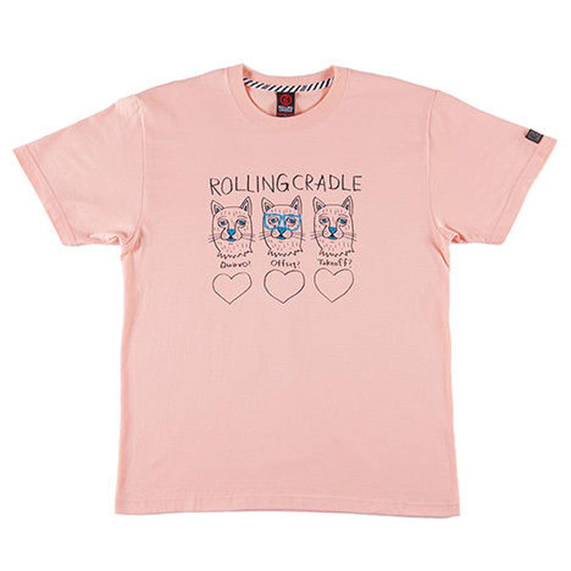"ROLLING CRADLE Tシャツ ""MIGOS CAT TEE"" / Apricot"