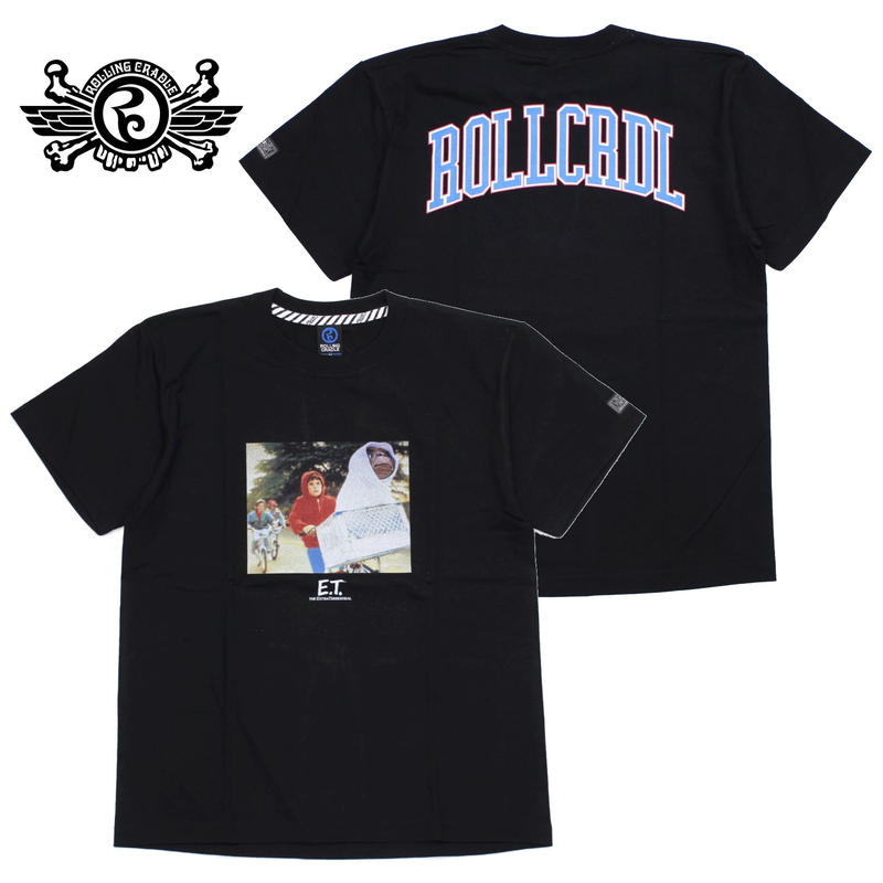 RCxE.T. ELLIOT BMX T-SHIRT / BLACK