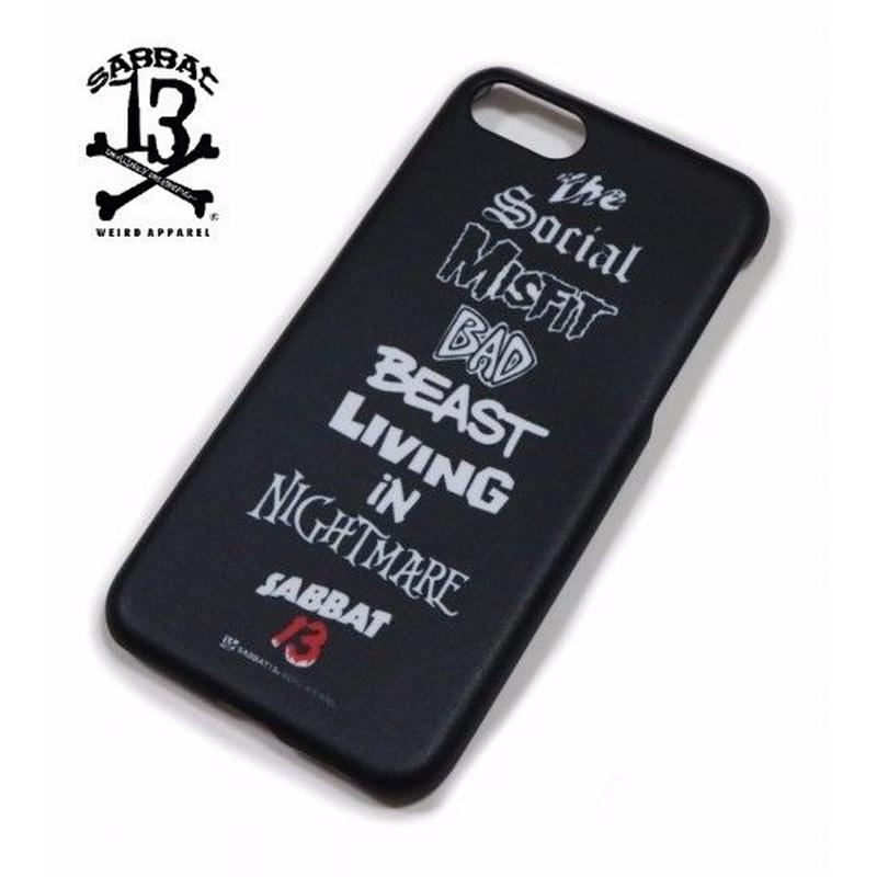 BEAST iPhone CASE / BLACK