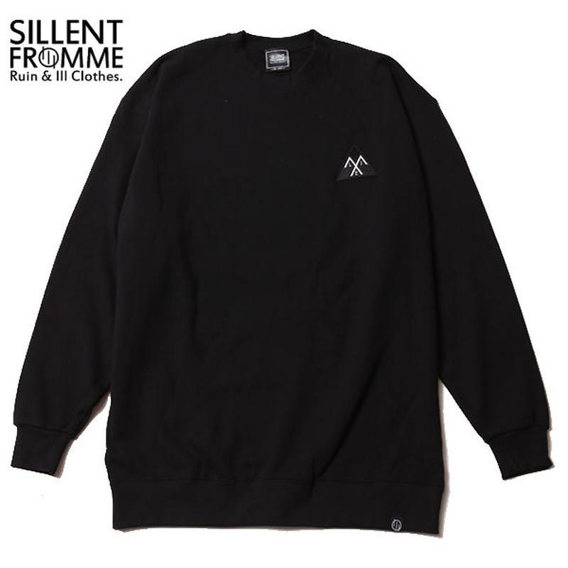 ALEXIA -Crew Sweat- / BLACK