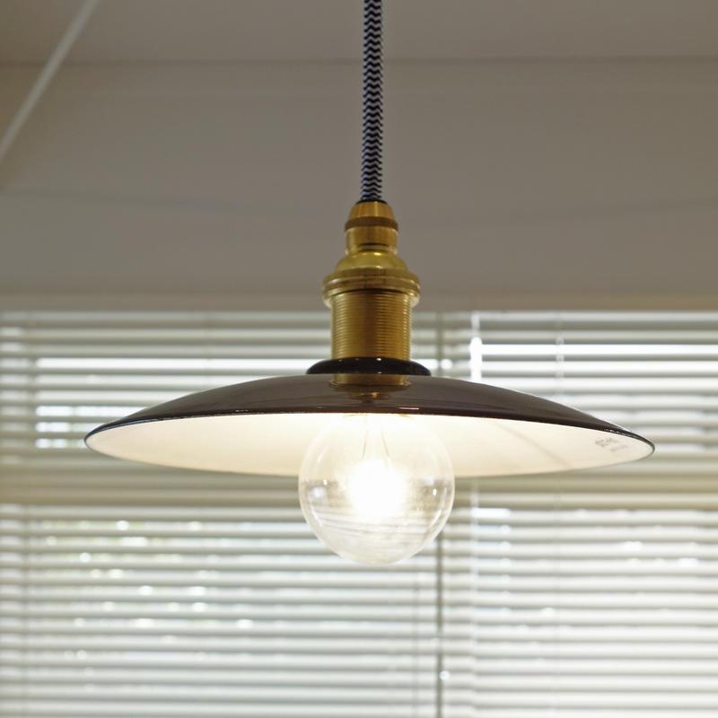 ホーローペンダント照明 カラーコード ストライプ