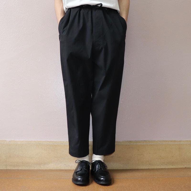 UNITUS(ユナイタス) SS19 Center Darts Easy Pant Black【UTSSS19-P05】(N)