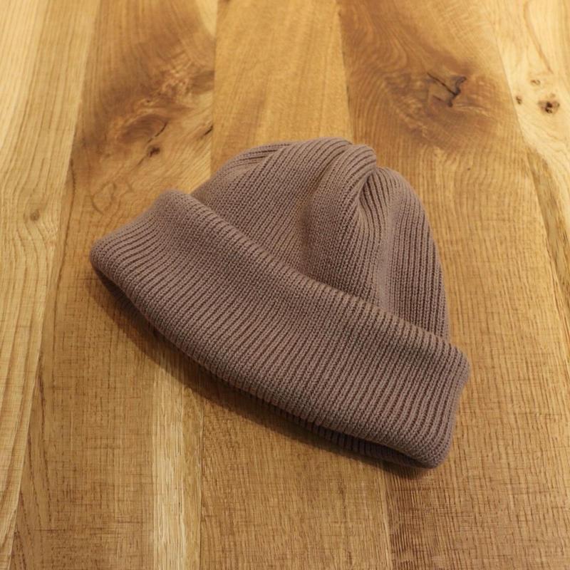 CREPUSCULE クレプスキュール Knit Cap 2  Brown【1901-009】(N)