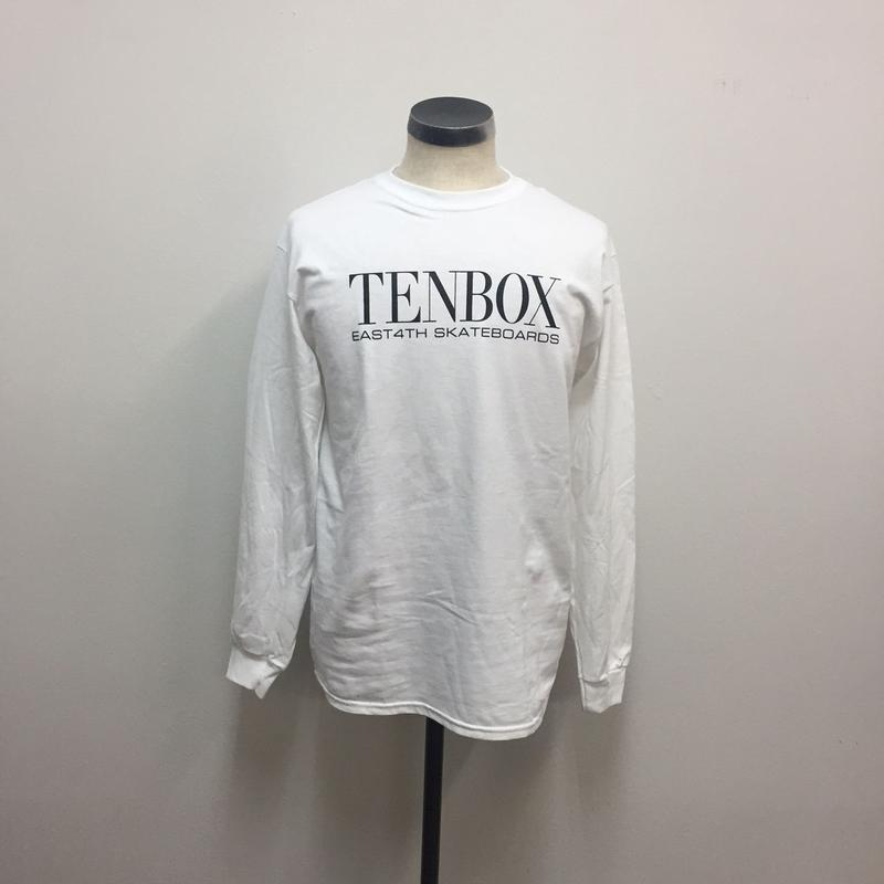 TENBOX×EAST4TH L/S TEE WHITE