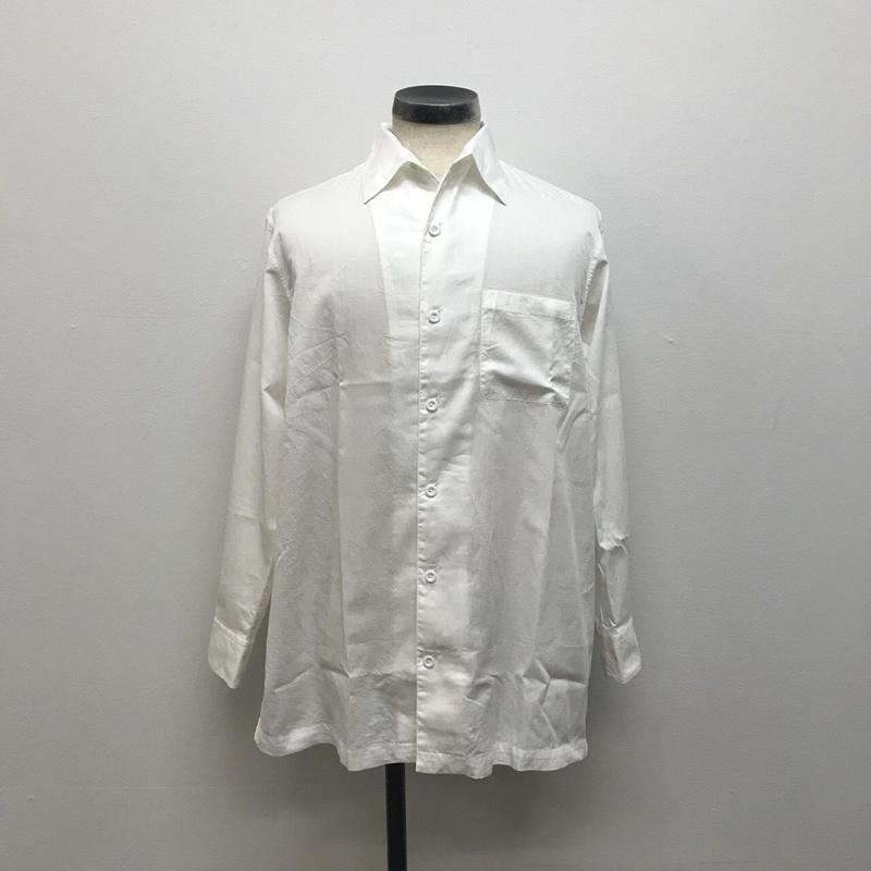 SOWBOW  SBSH01-1 蒼氓シャツB  REGULAR COLLAR WHITE(N)