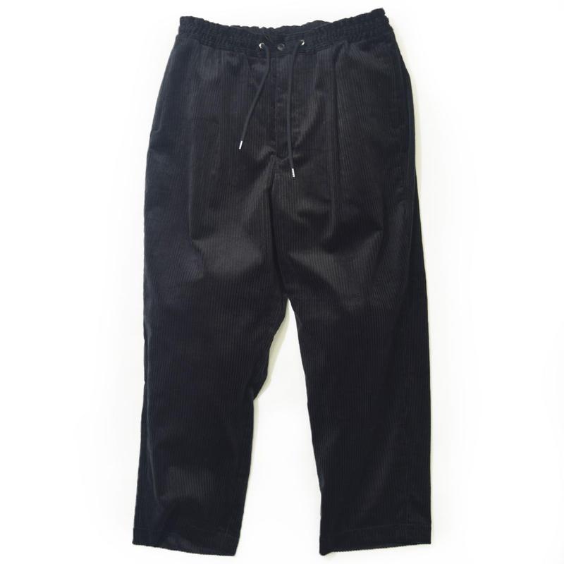 UNITUS(ユナイタス) FW17 Wide  Easy Pants Black【UTSFW17-P01】(N)