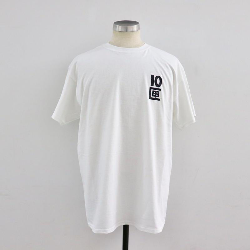 TEN BOX(テンボックス) J TENBOX LOGO TEE White(N)